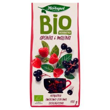 HERBAPOL Herbatka BIO aronia i malina 100g
