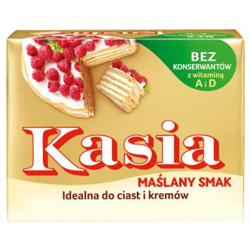 Tłuszcz roślinny Extra Maślany Smak 250g KASIA. Udane wypieki i pyszne kremy.