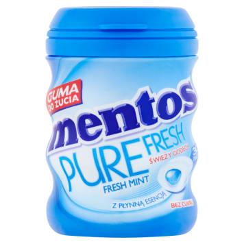 MENTOS Pure Fresh Guma do żucia bez cukru o smaku miętowym 60g