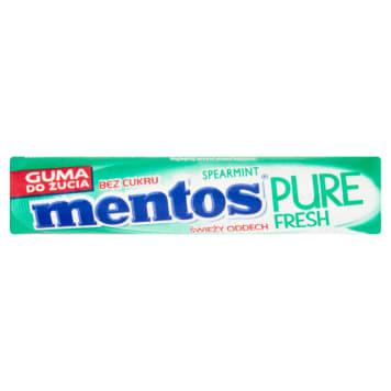 MENTOS Pure Fresh Gumy do żucia spearmint 16g