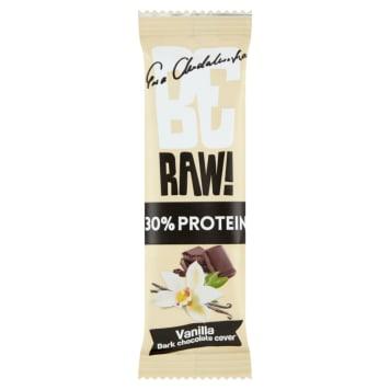 BE RAW! PROTEIN 30% Baton proteinowy Wanilia 40g