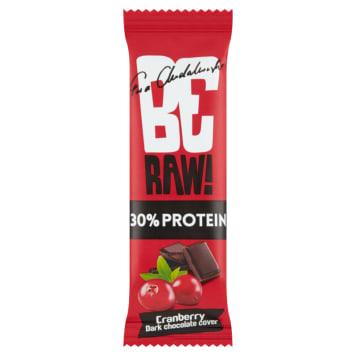 BE RAW! PROTEIN 30% Baton proteinowy Żurawina 40g