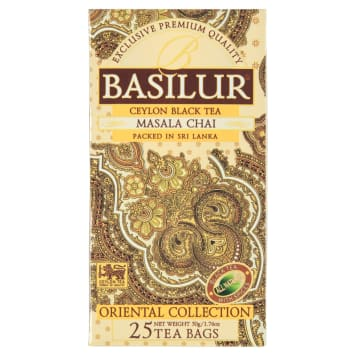 BASILUR Oriental Collection Masala Chai Herbata czarna 25 torebek 50g