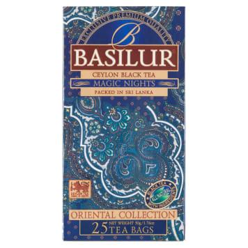BASILUR Oriental Collection Magic Nights Herbata czarna aromatyzowana 25 torebek 50g