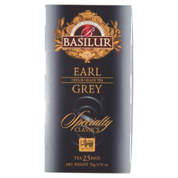 BASILUR Earl Grey Herbata czarna 25 torebek 50g