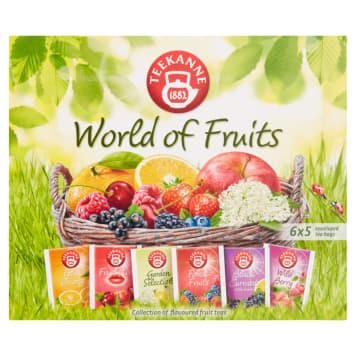 TEEKANNE World of Fruits Zestaw herbat owocowych 30 torebek 70g