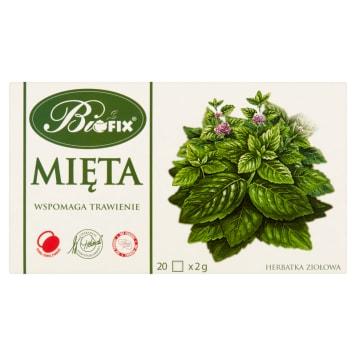 BIFIX Herbatka ziołowa Mięta 20 torebek 40g