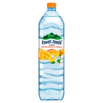ŻYWIEC ZDRÓJ Z NUTĄ Mango i Pomarańczy 1.5l