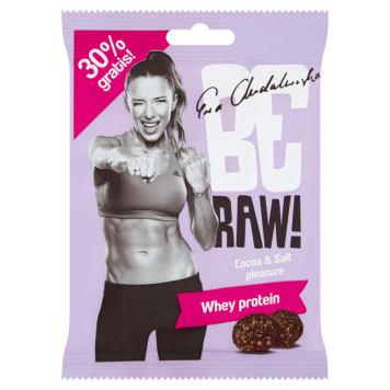 BE RAW! Kuleczki Whey Protein surowe kakao, sól himalajska 65g