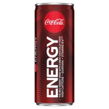 COCA-COLA Energy Napój gazowany energetyzujący 250ml
