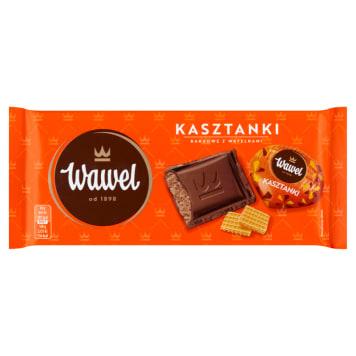 WAWEL Czekolada nadziewana Kasztanki kakaowe z wafelkami 100g