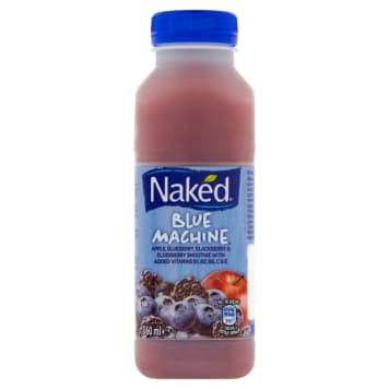 NAKED Wieloowocowe smoothie z witaminami Blue Machine 360 ml