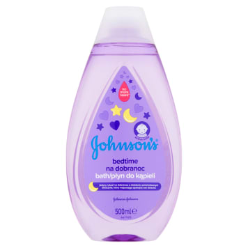 JOHNSONS® Bedtime Płyn do kąpieli na dobranoc 500 ml