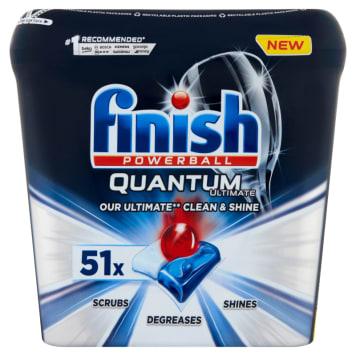 FINISH Quantum Ultimate Tabletki do mycia naczyń w zmywarce 51 szt 637g