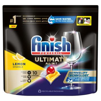 FINISH Quantum Ultimate Tabletki do mycia naczyń w zmywarce cytrynowe 10szt 125g