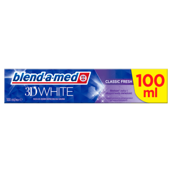 BLEND-A-MED 3D White Pasta do zębów 100ml