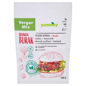 YUMMITY Vege burger buraczany 120g