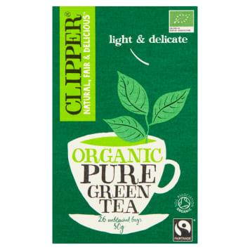 CLIPPER Herbata zielona BIO 26 torebek 50g