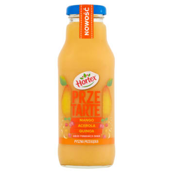 HORTEX Przetarte Premium smoothie jabłko pomarańcza banan mango acerola quinoa 300ml