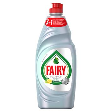 FAIRY PLATINUM Plus Płyn do mycia naczyń cytryna i limonka 650ml