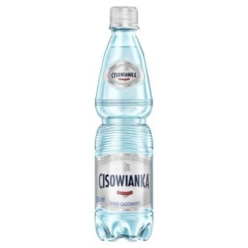 Woda mineralna lekko gazowana, 500ml - Cisowianka