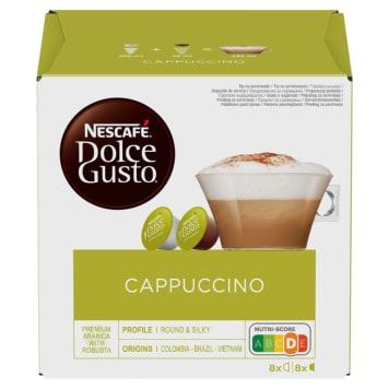 Dolce Gusto Cappuccino, kawa w kapsułkach - Nescafe
