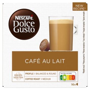 Kawa w kapsułkach - Nescafe Dolce Gusto Café au Lait