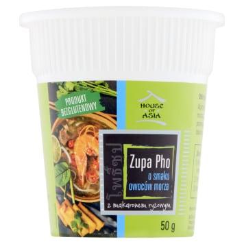 HOUSE OF ASIA Zupa PHO o smaku owoców morza 50g
