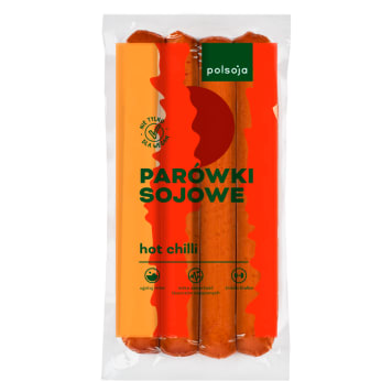 Parówki sojowe chilli 200g - Polsoja