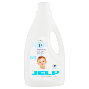 JELP 1+ Hipoalergiczny żel do prania białego 1.5l