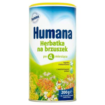 Herbatka na brzuszek – Humana. Smaczna herbatka opracowana z troski o niemowlaka.