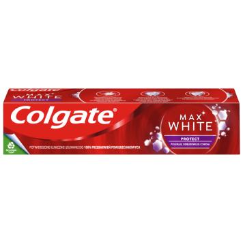 COLGATE Max White Pasta do zębów z fluorem White&Protect 75ml