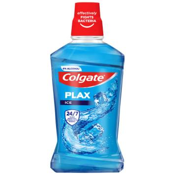 Colgate - Płyn do płukania jamy ustnej Ice Splash pozostawia uczucie długotrwałej świeżości.