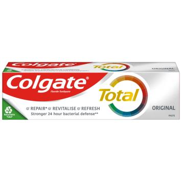 Colgate Total - Pasta do zębów Original 100ml. Do codziennej higirny jamy ustnej.