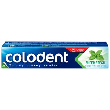 Pasta do zębów 100ml COLODENT. Idealnie odświeża i czyści jamę ustną