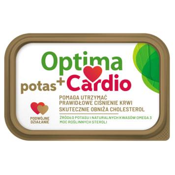 OPTIMA Cardio Potas+ Margaryna roślinna z dodatkiem steroli roślinnych 400g