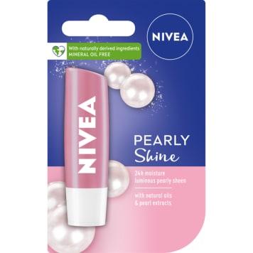 NIVEA Pielęgnująca pomadka do ust Pearly Shine (4,8 g) 1szt