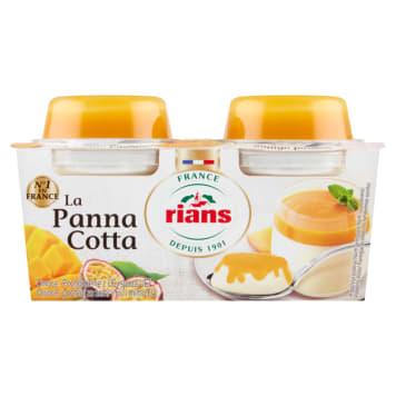 RIANS Panna Cotta z mango i marakują 2x120g 240g