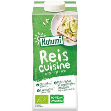 Śmietana ryżowa BIO 200ml NATUMI - bezglutenowy produkt ryżowy zastępujący śmietankę.