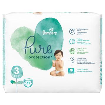 PAMPERS Pure Protection Pieluchy rozmiar 3 (6-10kg) 31 szt 1szt