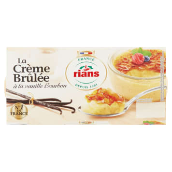 RIANS Creme brulee 2x100g 200 g