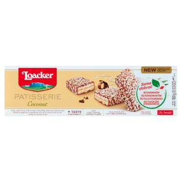 LOACKER Gran Pasticceria Wafle z kremem kokosowym w mlecznej czekoladzie 100g