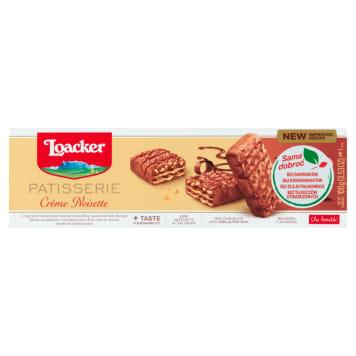 LOACKER Gran Pasticceria Wafle z kremem orzechowym w mlecznej czekoladzie 100g