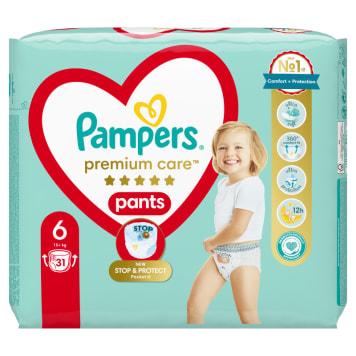 PAMPERS Premium Care Pieluchomajtki Rozmiar 6 (15kg+) 31 szt. 1szt