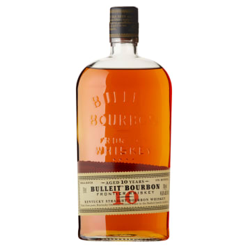 BULLEIT BOURBON 10 Years Old Fronister Whisky 700 ml
