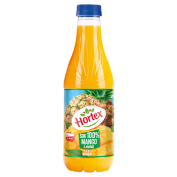HORTEX Sok 100% ananas & mango PET 1l