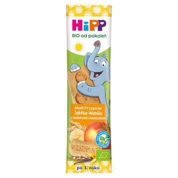 HIPP Batonik Musli Przyjaciel Jabłka-Wanilia,maślane ciasteczka BIO 20g