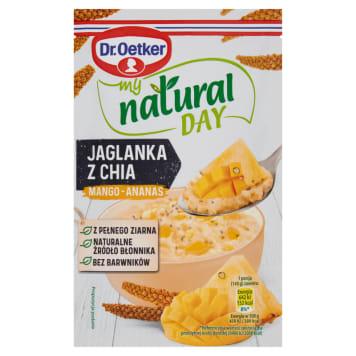 DR. OETKER My Natural Day Jaglanka mango-ananas 40g