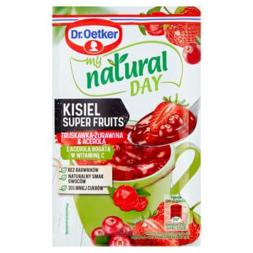 DR. OETKER My Natural Day Kisiel truskawka-żurawina 28g