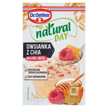 DR. OETKER My Natural Day Owsianka malina-miód 51g